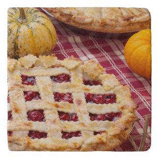 Lattice Cherry Pie And Apple Pie Trivet