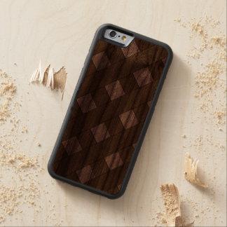 Lattice Fence Walnut iPhone 6 Bumper Case