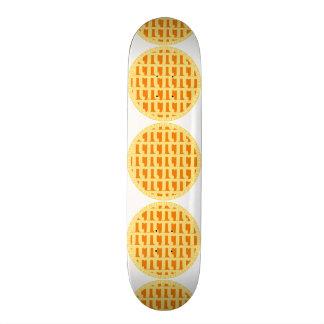 Lattice Pumpkin Pie - Pi Day 19.7 Cm Skateboard Deck