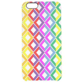 Lattice Rainbow Clear iPhone 6 Plus Case