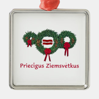 Latvia Christmas 2 Christmas Ornament