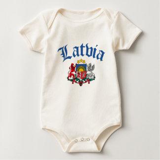 Latvia Coat of Arms Baby Bodysuit