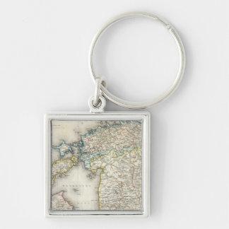 Latvia, Estonia Key Ring
