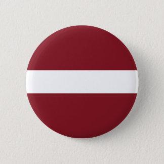 Latvia Flag 6 Cm Round Badge