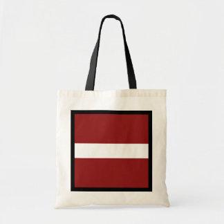 Latvia Flag Bag
