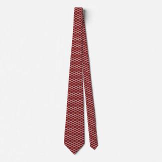 Latvia Flag Honeycomb Tie