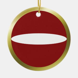 Latvia Flag Ornament