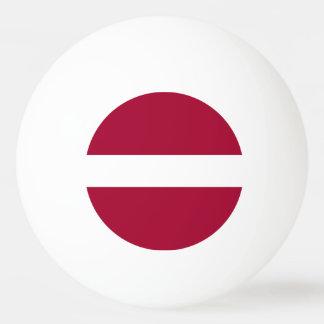 Latvia Flag Ping Pong Ball