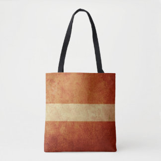 Latvia Flag Tote Bag
