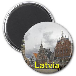 Latvia fridge magnet