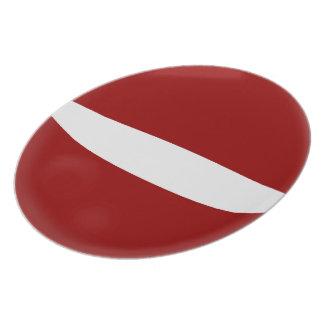 Latvia Latvian Flag Plate