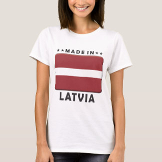 Latvia Made T-Shirt