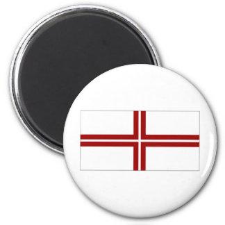 Latvia Naval Ensign Magnets
