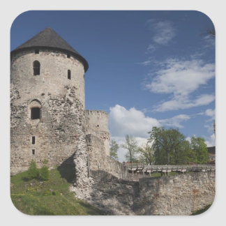 Latvia, Northeastern Latvia, Vidzeme Region, 3 Square Sticker