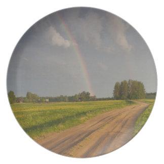 Latvia, Northeastern Latvia, Vidzeme Region, 4 Plate