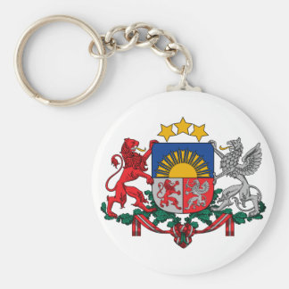 Latvia Official Coat Of Arms Heraldry Symbol Key Ring