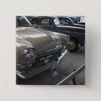 Latvia, Riga, Riga Motor Museum, 1960s 15 Cm Square Badge