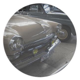 Latvia, Riga, Riga Motor Museum, 1960s Plate