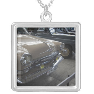 Latvia, Riga, Riga Motor Museum, 1960s Silver Plated Necklace