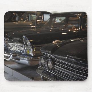 Latvia, Riga, Riga Motor Museum, cars of the Mouse Mat