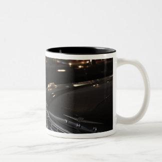 Latvia, Riga, Riga Motor Museum, cars of the Two-Tone Coffee Mug