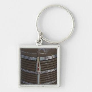 Latvia, Riga, Riga Motor Museum, hood ornament Key Ring