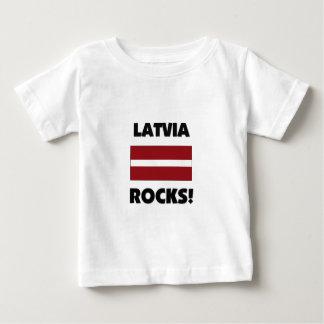 Latvia Rocks Baby T-Shirt