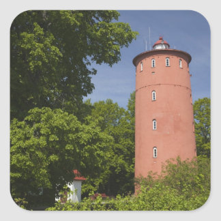 Latvia, Western Latvia, Kurzeme Region, Cape Square Sticker