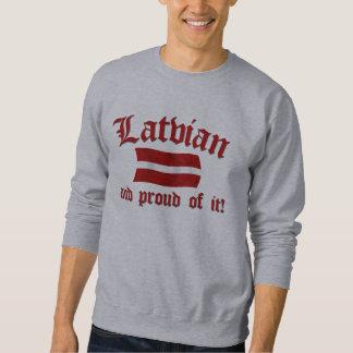 Latvian and Proud of It Sweatshirt