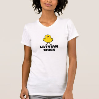 Latvian Chick T-Shirt