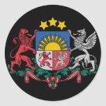 Latvian coat of arms sticker