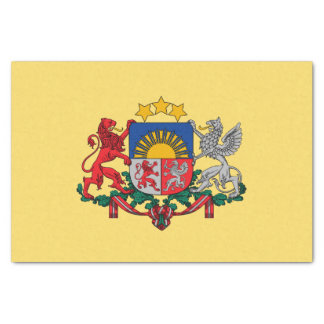 Latvian coat of arms tissue paper