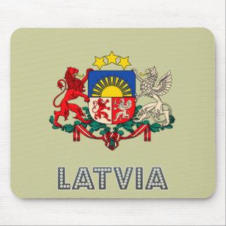 Latvian Emblem Mouse Pad