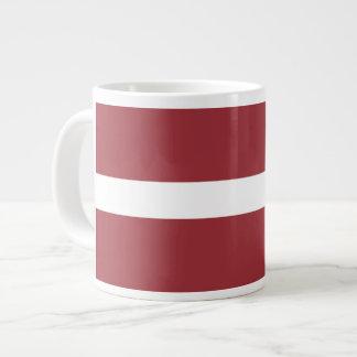 Latvian Flag Large Coffee Mug