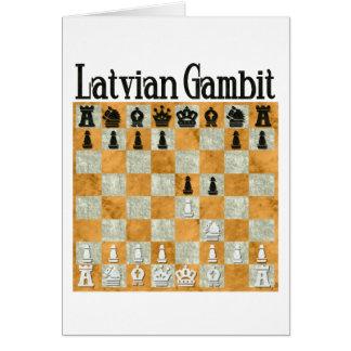 Latvian Gambit Card