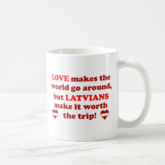 Latvian Love Coffee Mug