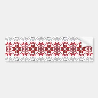 Latvian Morning Sun VIII Bumper Sticker