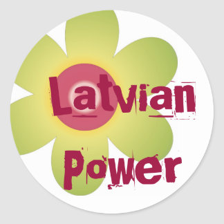 Latvian Power sticker