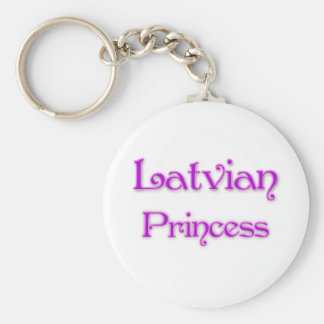 Latvian Princess Key Ring