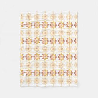 Latvian Sun VIII Fleece Blanket