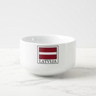 Latvija Soup Mug