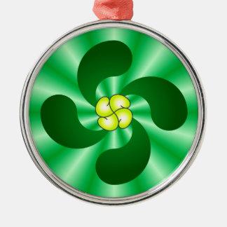 Lauburu Basque cross Basque CROSS Christmas Ornament