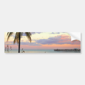 Lauderdale-by-the-Sea, Florida Sunset Bumper Stickers