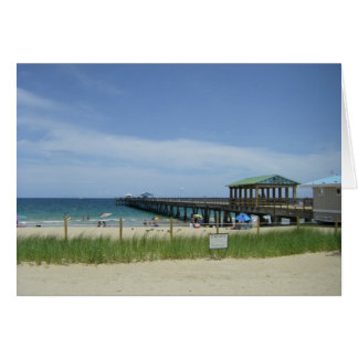 Lauderdale by the Sea, Fort Lauderdale Florida Greeting Card
