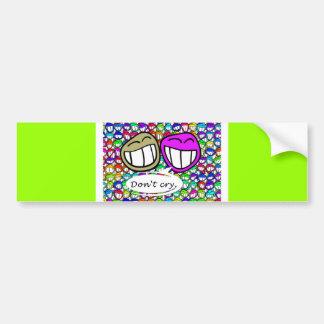 laugh-116521   laugh faces grin smilie smile joy f bumper sticker