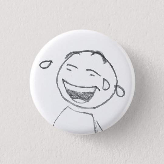 Laugh 3 Cm Round Badge