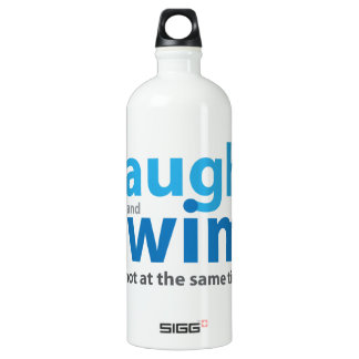 Laugh and Swim ... but not at the same time Water Bottle