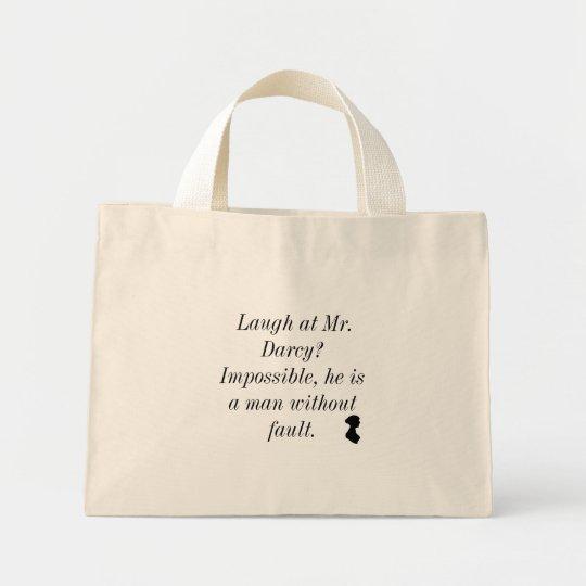 Laugh at Mr. Darcy Mini Tote Bag