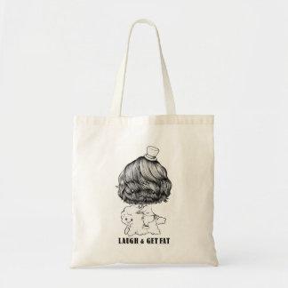 LAUGH & GET FAT totobatsugu Tote Bag