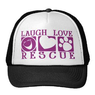 Laugh Love Rescue Cap